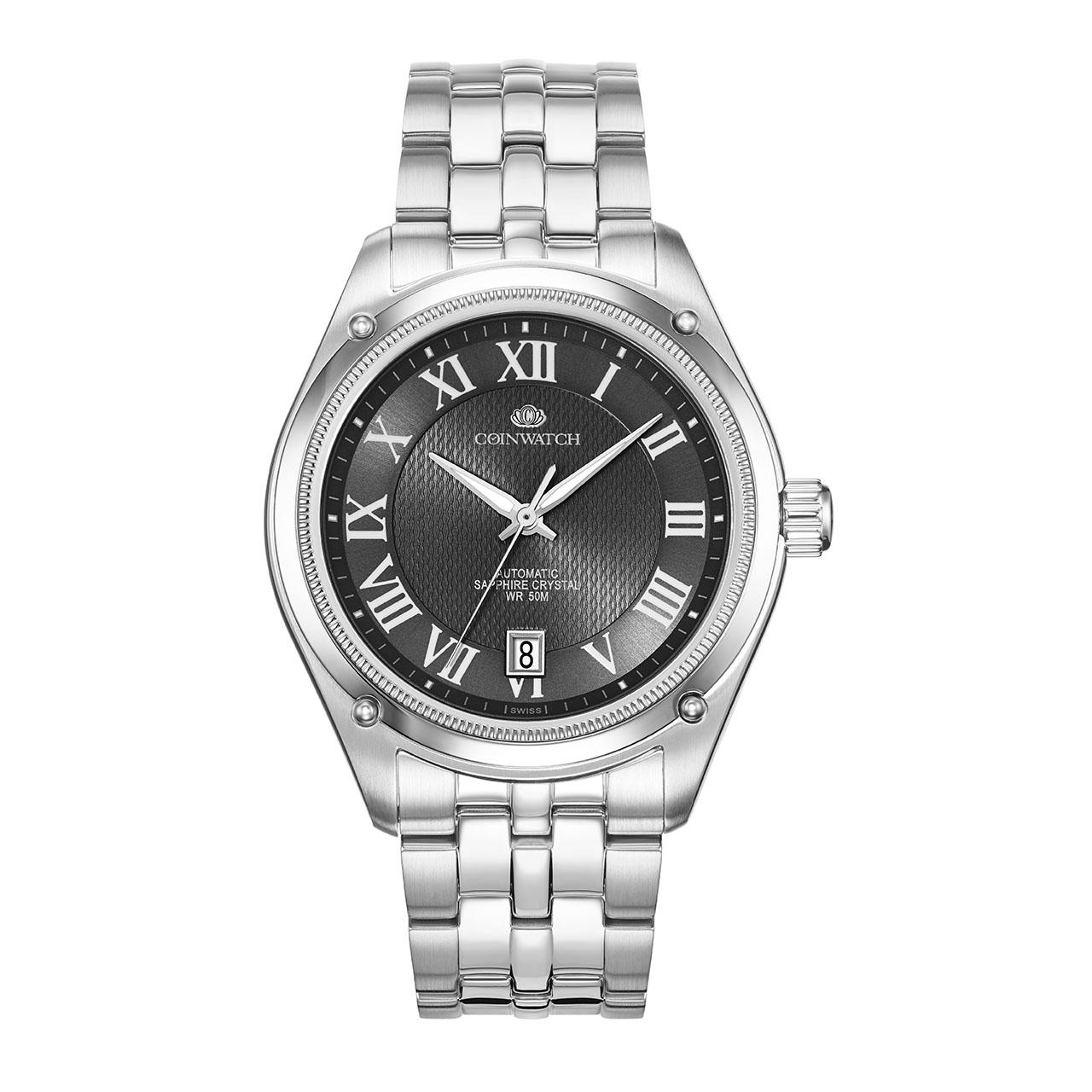 ساعت مچی عقربه ای مردانه کوین واچ مدل C171SBK