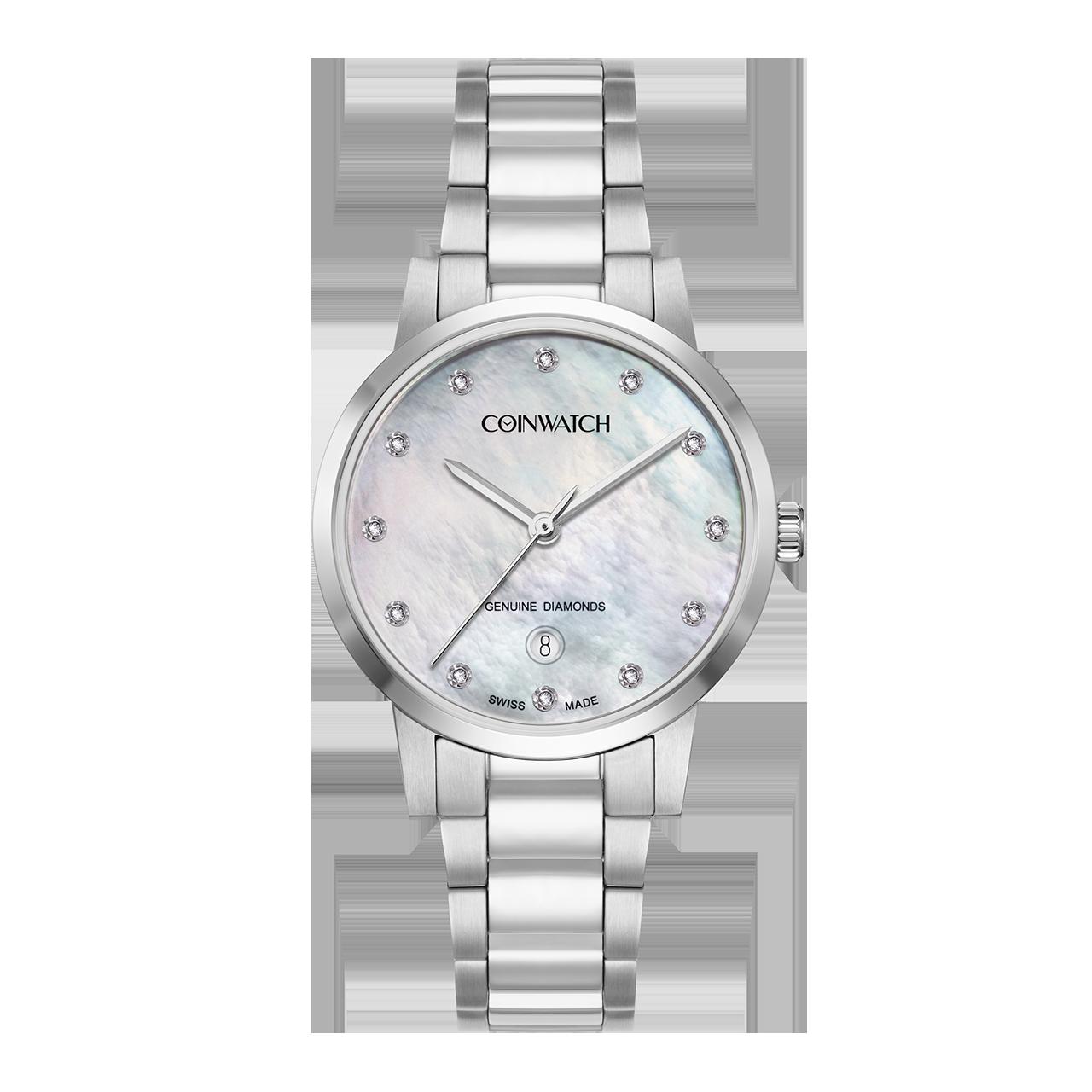 ساعت مچی عقربه ای زنانه کوین واچ مدل C180SWH