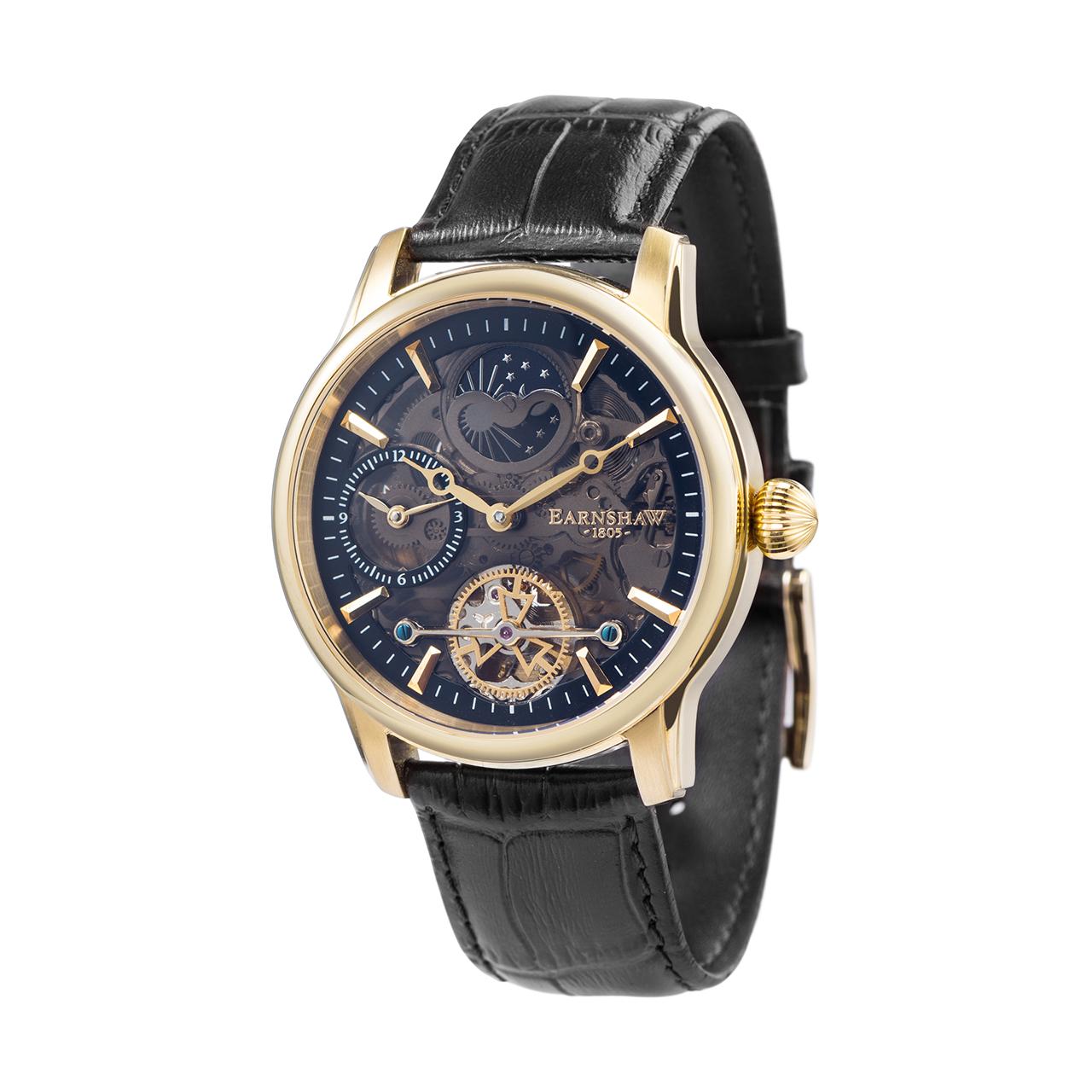 ساعت مچی عقربه ای مردانه ارنشا مدل ES-8063-05 35