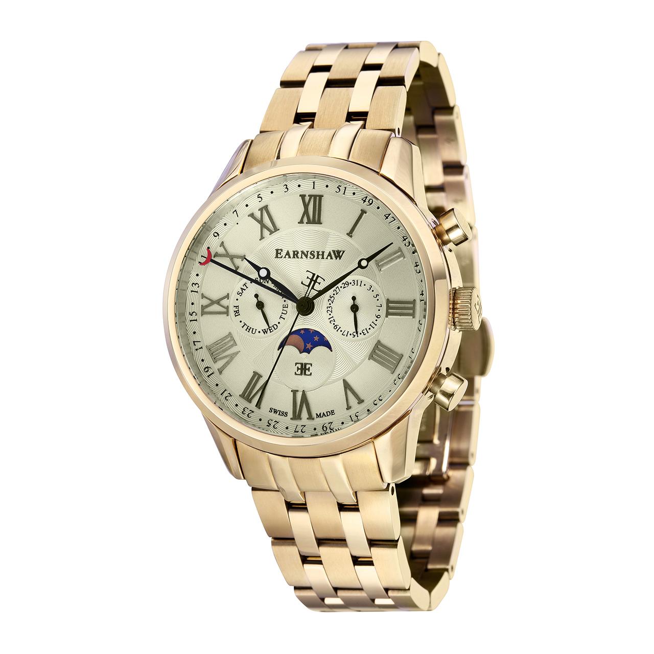 ساعت مچی عقربه ای مردانه ارنشا مدل ES-0017-33 16