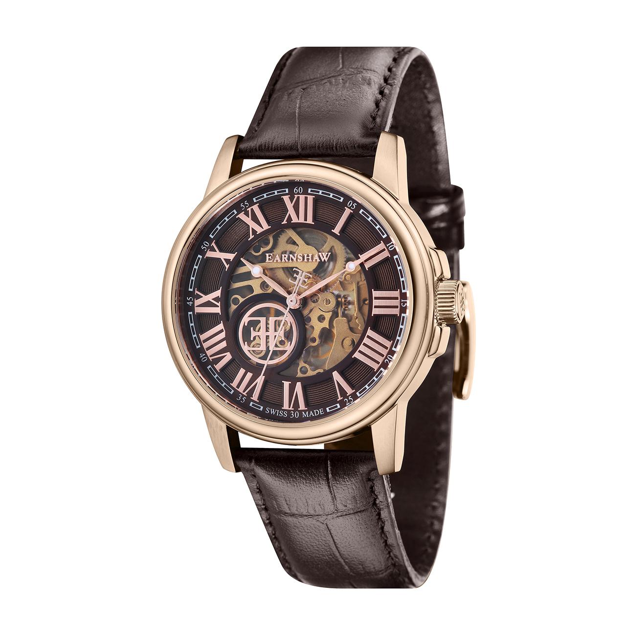 ساعت مچی عقربه ای مردانه ارنشا مدل ES-0028-04 48