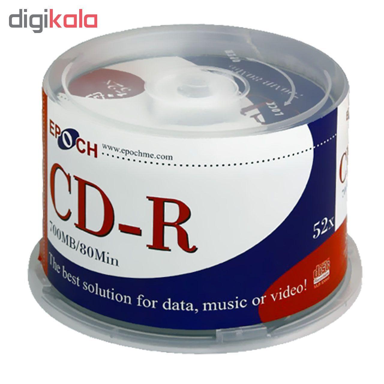 سی دی خام اپوچ مدل CD-R 52x بسته 50 عددی main 1 1