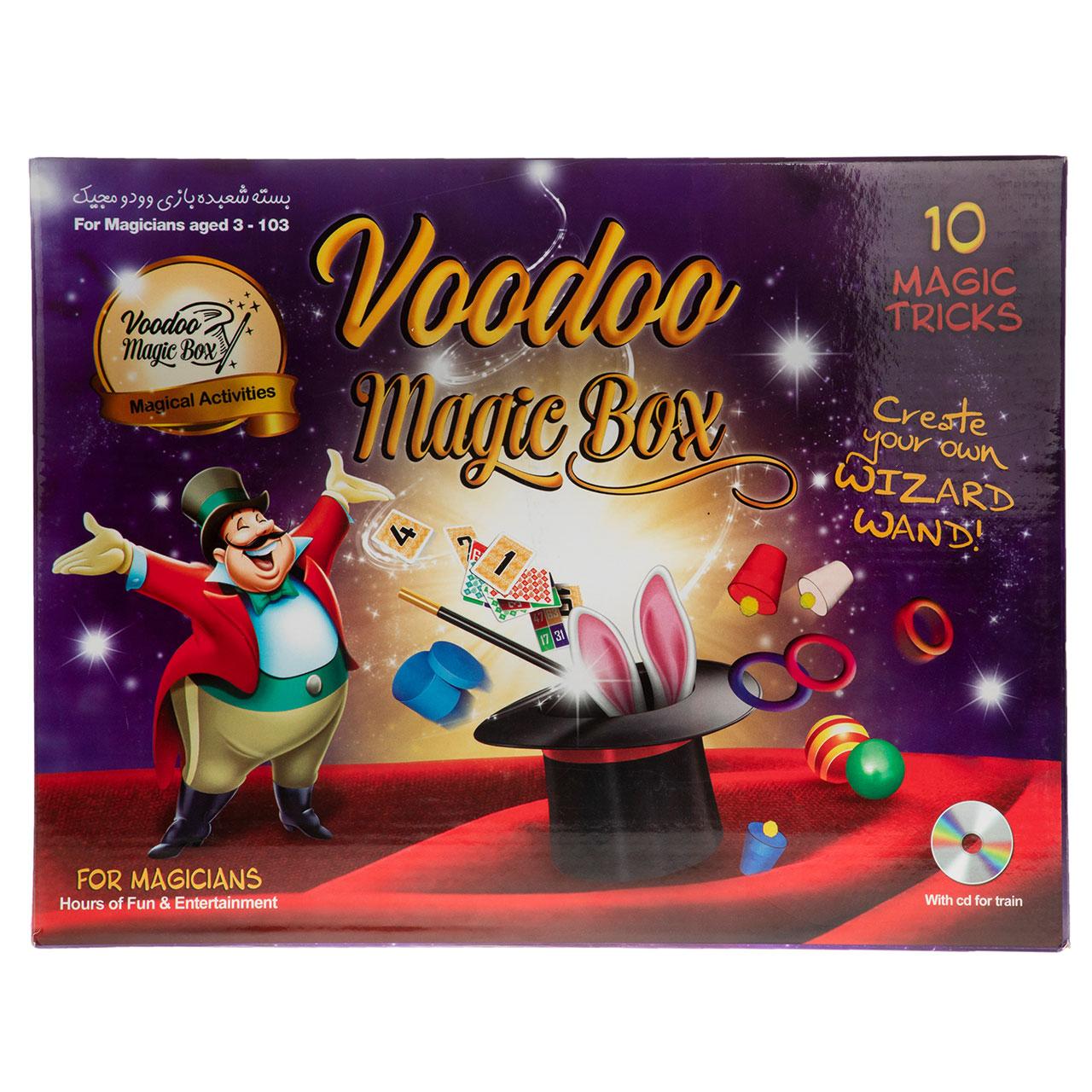 خرید                     ابزار شعبده بازی وودو مجیک مدل 001