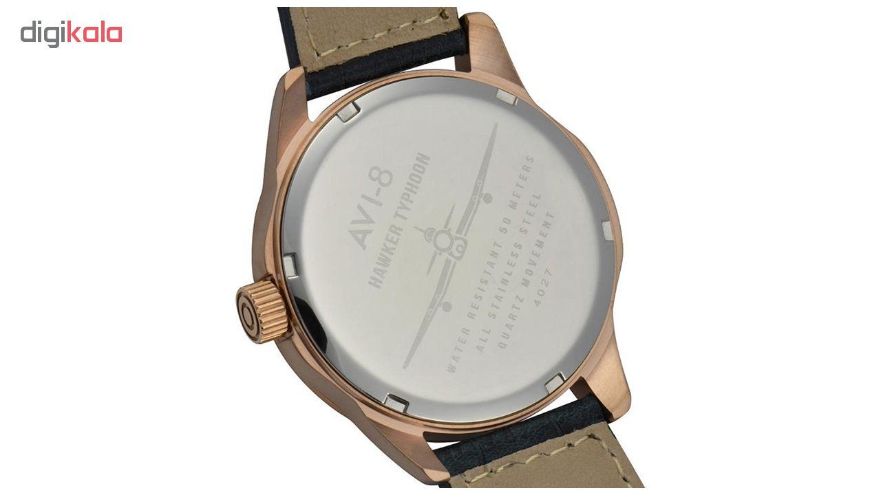 ساعت مچی عقربه ای مردانه ای وی-8 مدل AV-4027-04