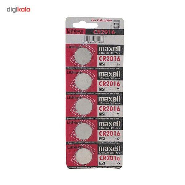 باتری سکه ای مکسل مدل CR2016 بسته 5 عددی main 1 1