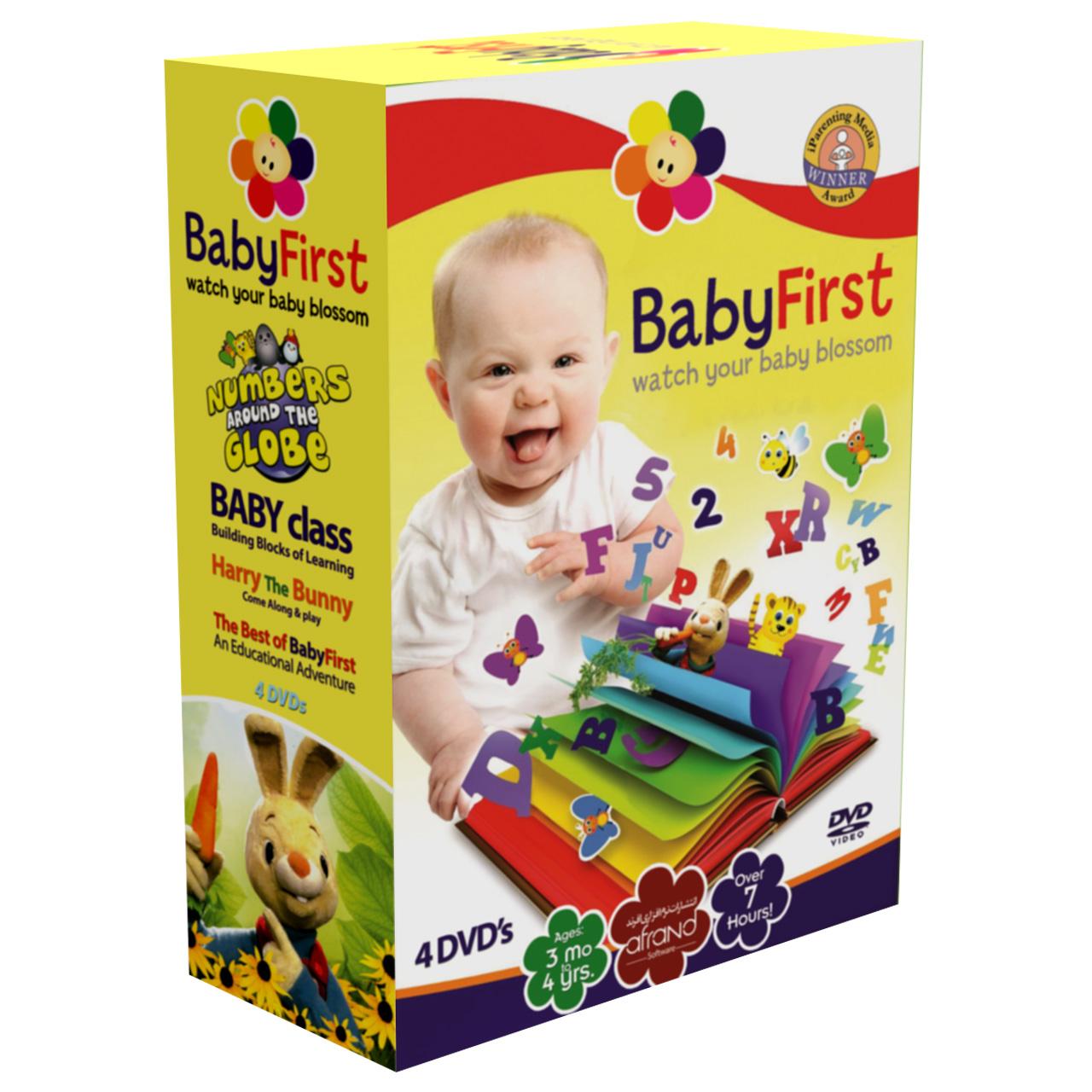 بسته آموزش زبان انگلیسی BabyFirst انتشارات نرم افزاری افرند