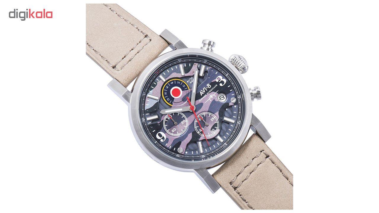 ساعت مچی عقربه ای مردانه ای وی-8 مدل AV-4041-05