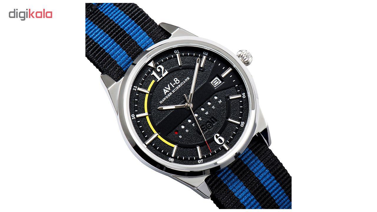 ساعت مچی عقربه ای مردانه ای وی-8 مدل AV-4044-02