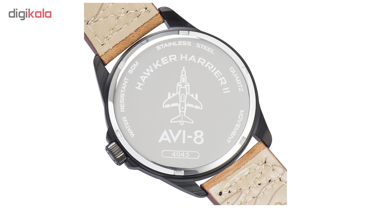 ساعت مچی عقربه ای مردانه ای وی-8 مدل AV-4045-04