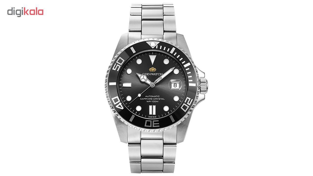 ساعت مچی عقربه ای مردانه کوین واچ مدل C105SBK
