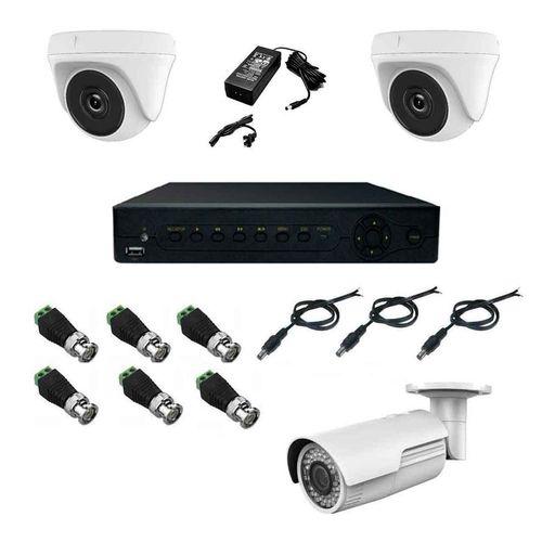 پک سیستم امنیتی نظارتی دوربین مداربسته سینتکس SX4001A