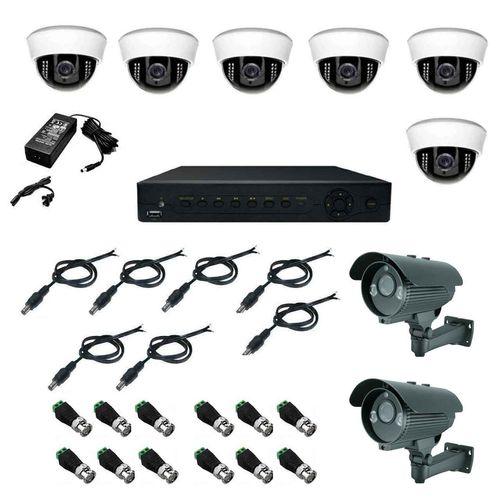 سیستم امنیتی نظارتی مداربسته هگزا مدل 804AF