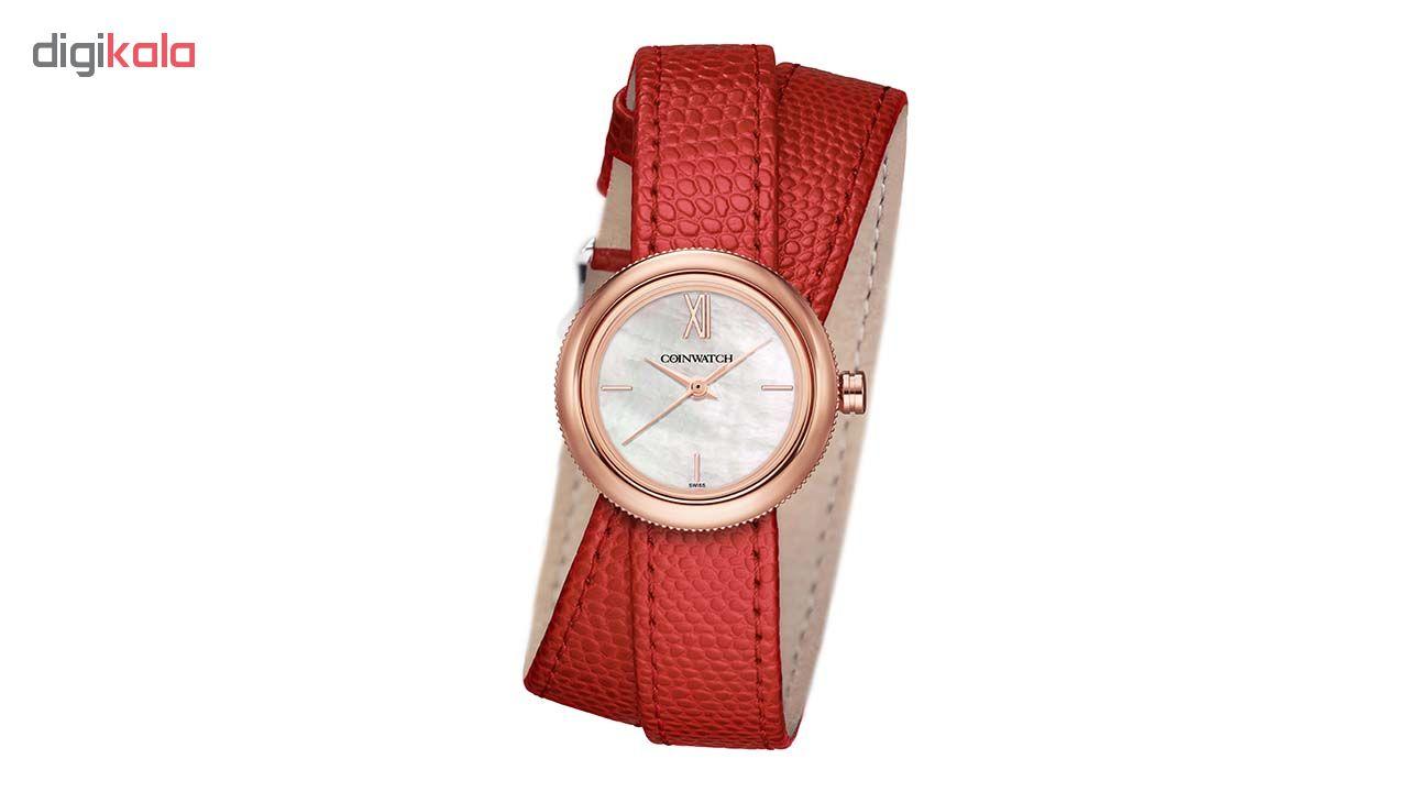ساعت مچی عقربه ای زنانه کوین واچ مدل C174RRD