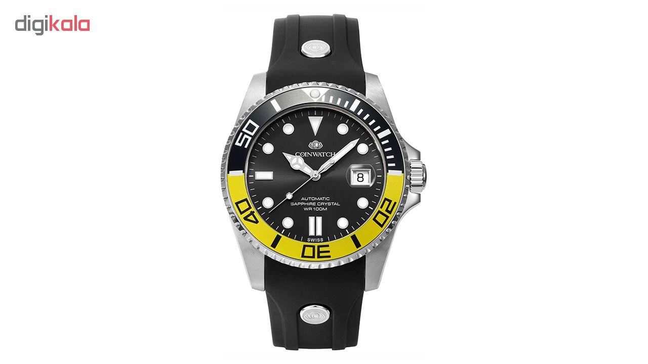 ساعت مچی عقربه ای مردانه کوین واچ مدل C115SYL