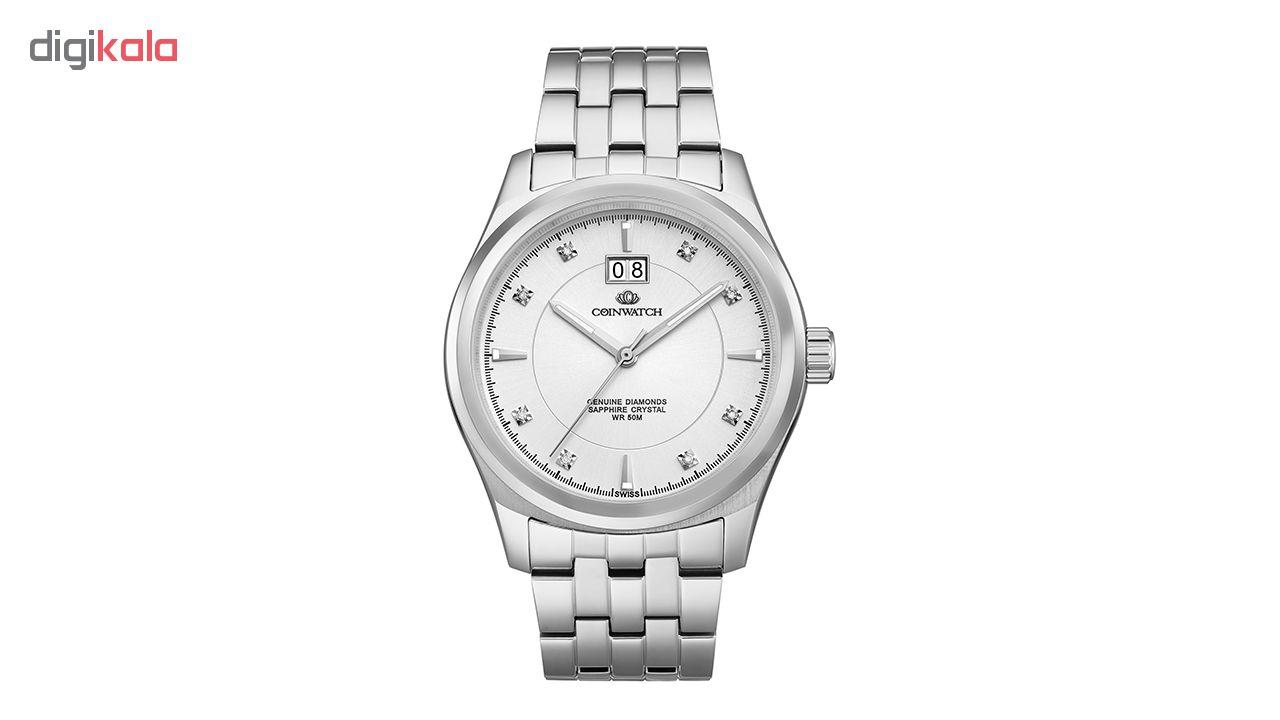 خرید ساعت مچی عقربه ای مردانه کوین واچ مدل C125SWH