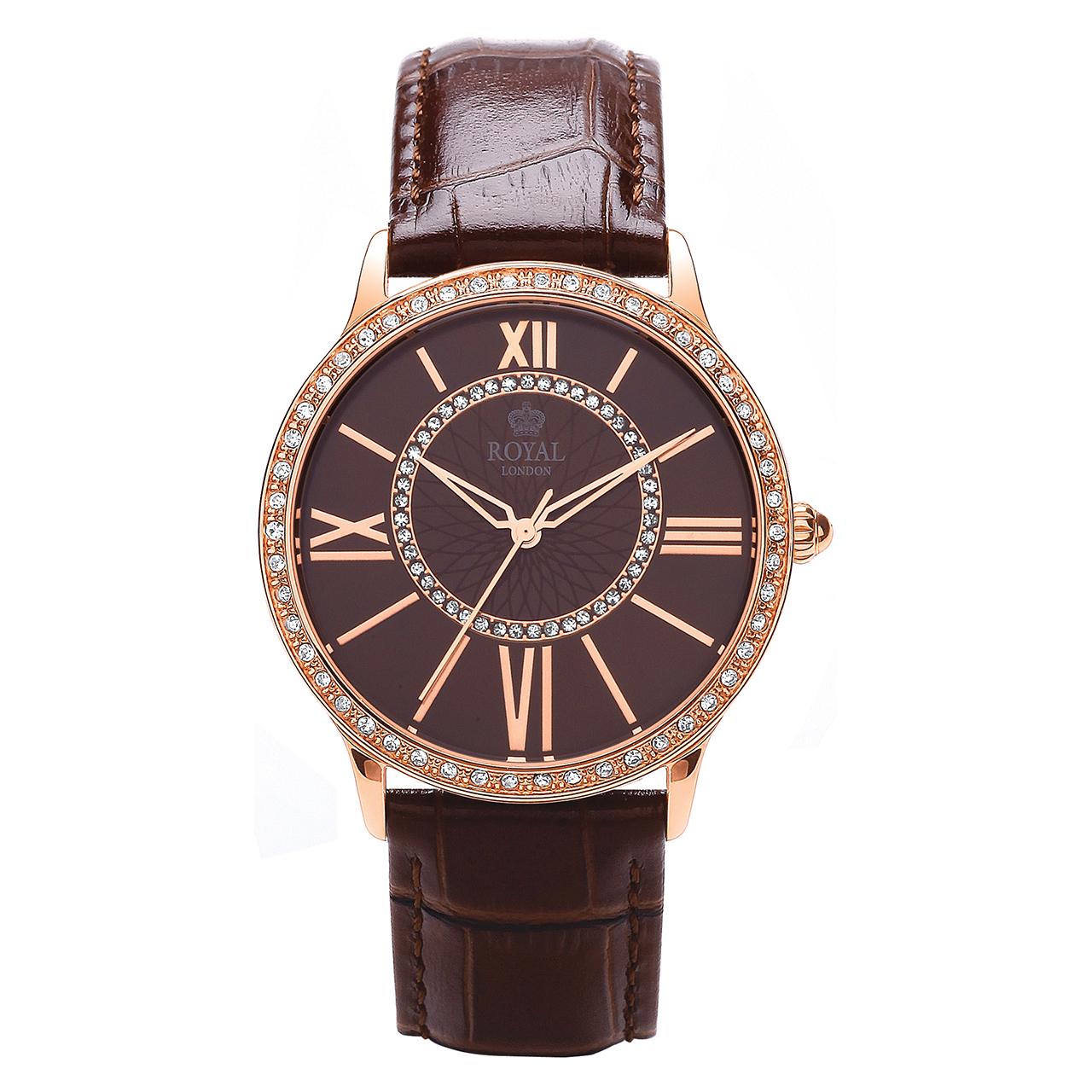 ساعت مچی عقربه ای زنانه رویال لندن مدل RL-21214-05