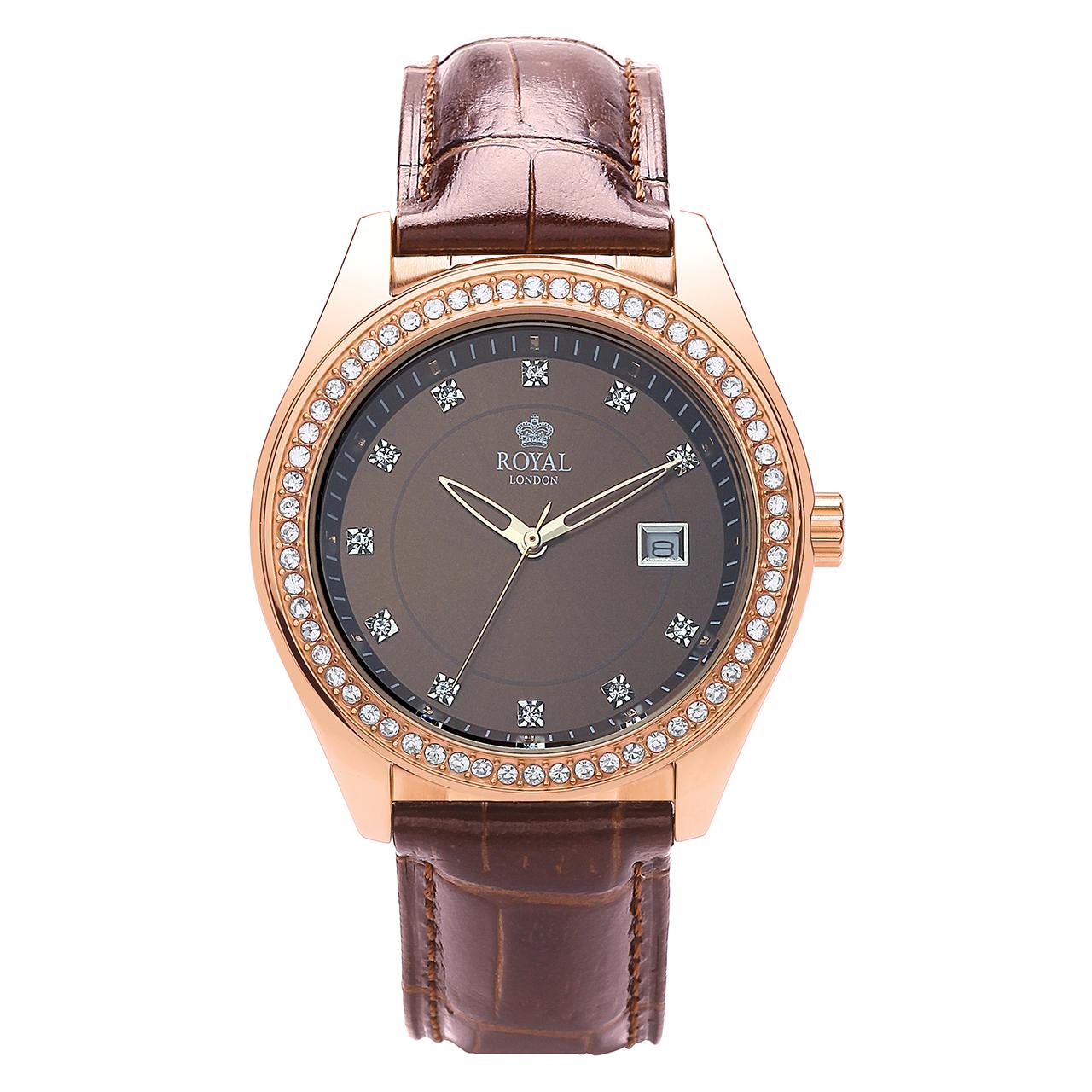 ساعت مچی عقربه ای زنانه رویال لندن مدل RL-21276-05 47