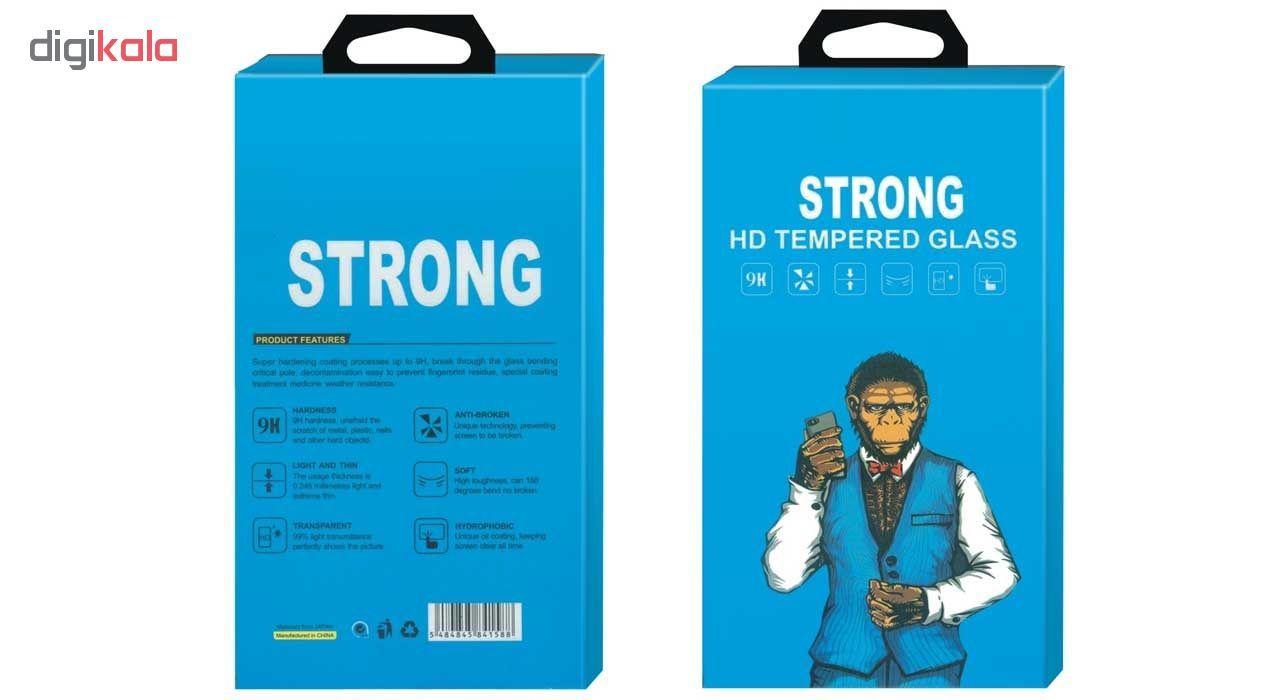 محافظ صفحه نمایش شیشه ای Strong مدل Fullcover مناسب برای گوشی موبایل هوآوی Honor 7X main 1 2