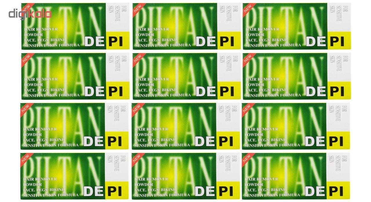 پودر موبر دپی مدل آپارتمانی با رایحه لیمو مقدار 50 گرمی بسته 12 عددی main 1 2
