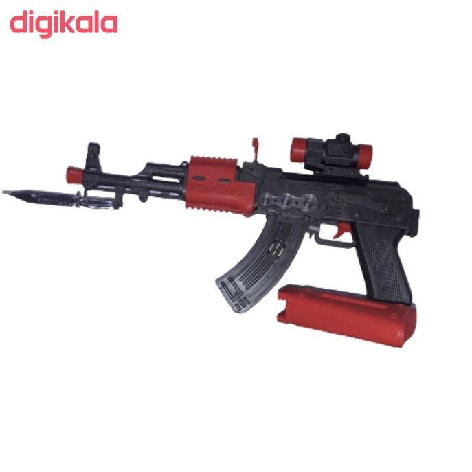 تفنگ بازی مدل مسلسل دوربین دار کد BKH18 main 1 3