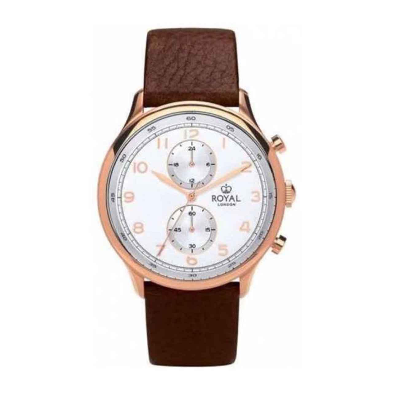 ساعت مچی عقربه ای مردانه رویال لندن مدل RL-41385-05