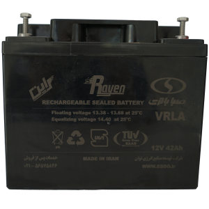 باتری یو پی اس 12 ولت 42 آمپرساعت صباباتری مدل 12SB42
