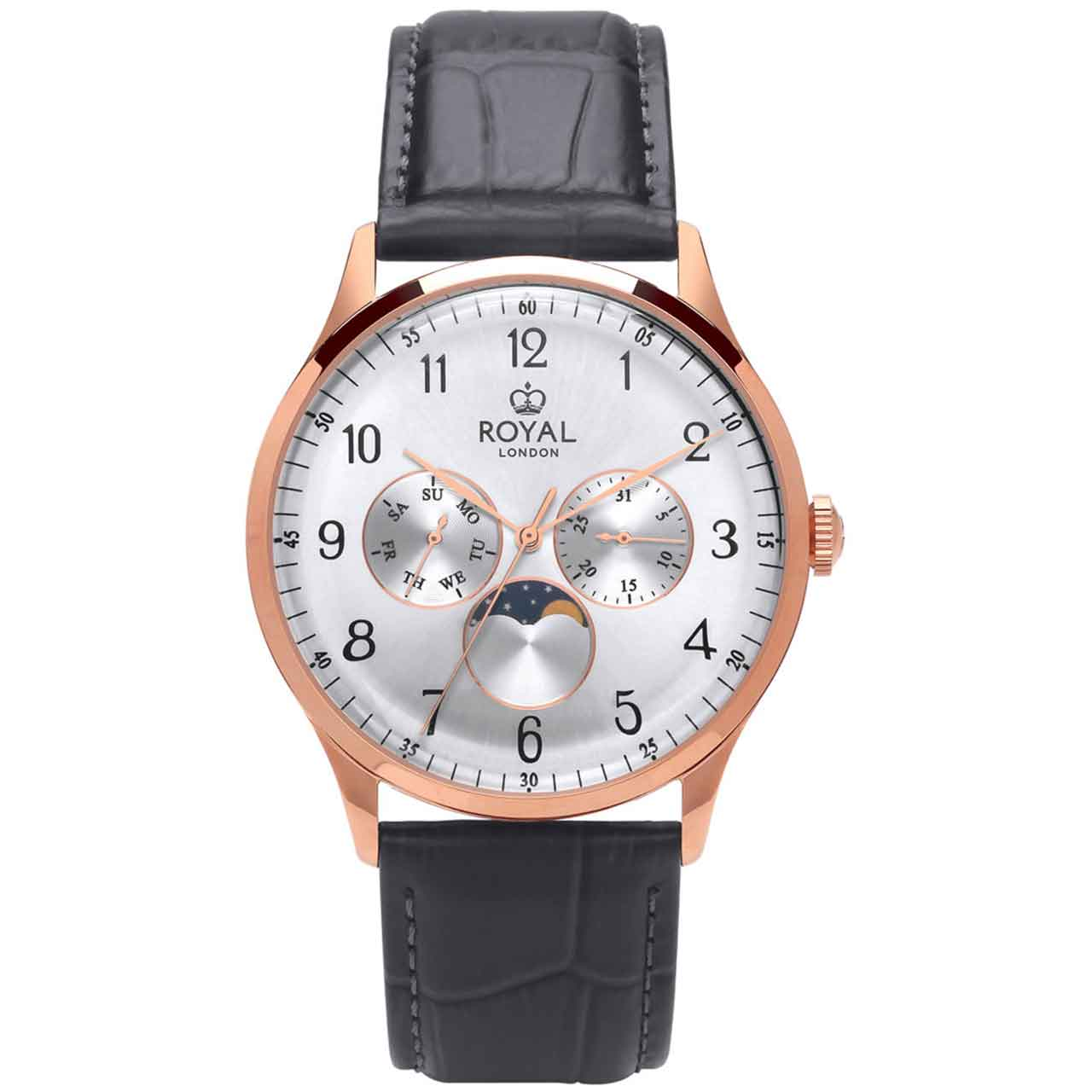 ساعت مچی عقربه ای مردانه رویال لندن مدل RL-41390-04 18
