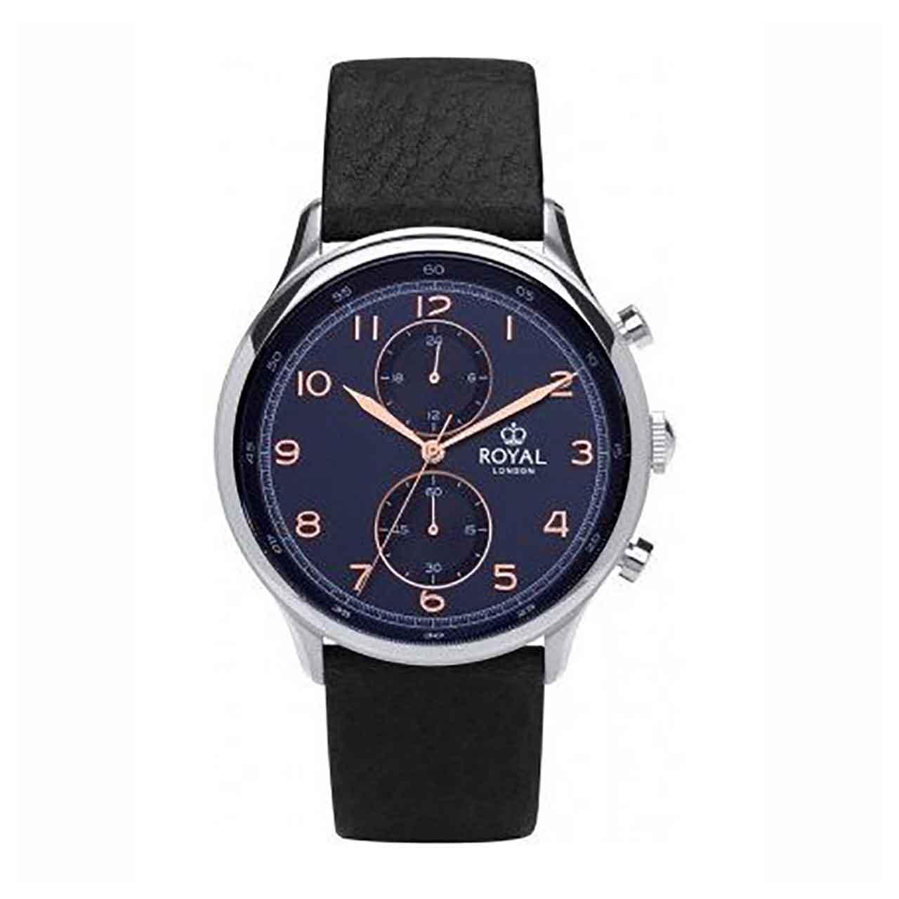 کد تخفیف                                      ساعت مچی عقربه ای مردانه رویال لندن مدل RL-41385-03