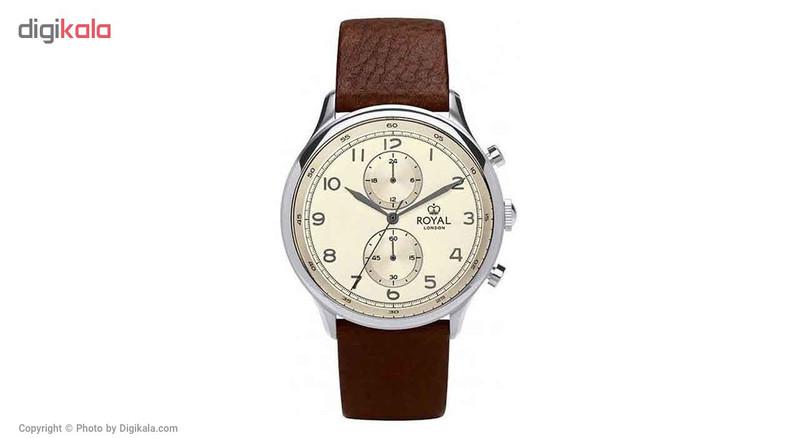 ساعت مچی عقربه ای مردانه رویال لندن مدل RL-41385-02