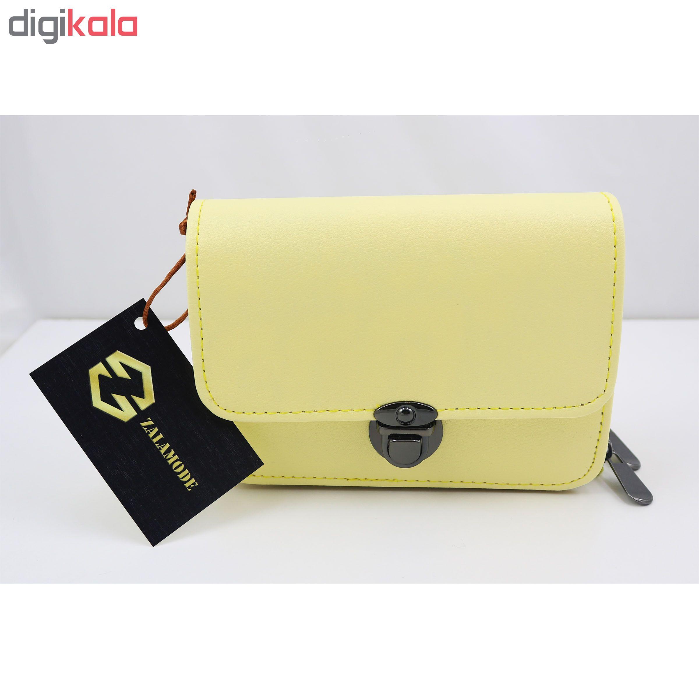 کیف پاسپورتی زنانه زالامد مدل ZA1005