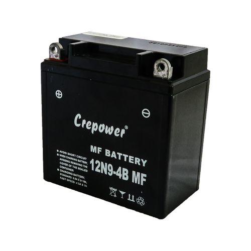 باتری موتور سیکلت کری پاور مدل 12N9-4B