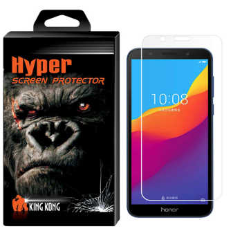 محافظ صفحه نمایش شیشه ای کینگ کونگ مدل Hyper Protector مناسب برای گوشی Huawei Honor 7S