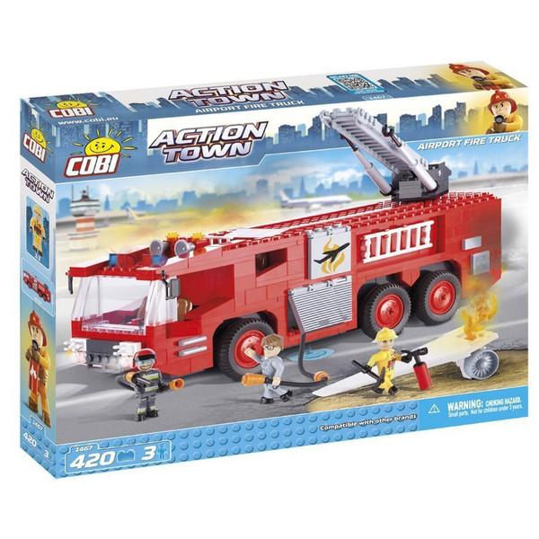 لگو کوبی Action Town - Airport Fire Truck -