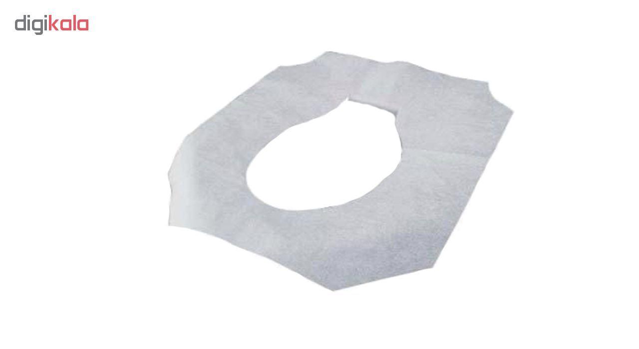 کاور یکبار مصرف توالت فرنگی بسته 20 عددی main 1 2