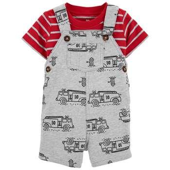 ست تی شرت و سرهمی نوزادی کارترز مدل 1443