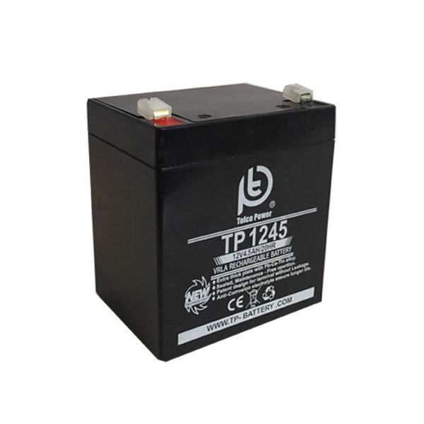 باتری 12 ولت 4.5 آمپر تلکو پاور مدل TP 12-4.5