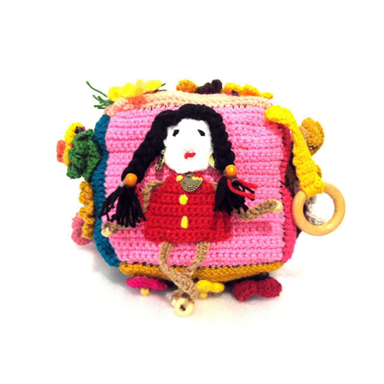 خرید                      عروسک بافتنی طرح آلیس دختر جنگل