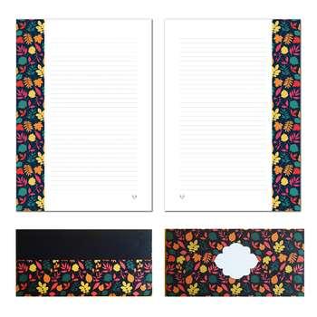 کاغذ یادداشت و پاکت نامه ستوده کد pe012 سایز A4