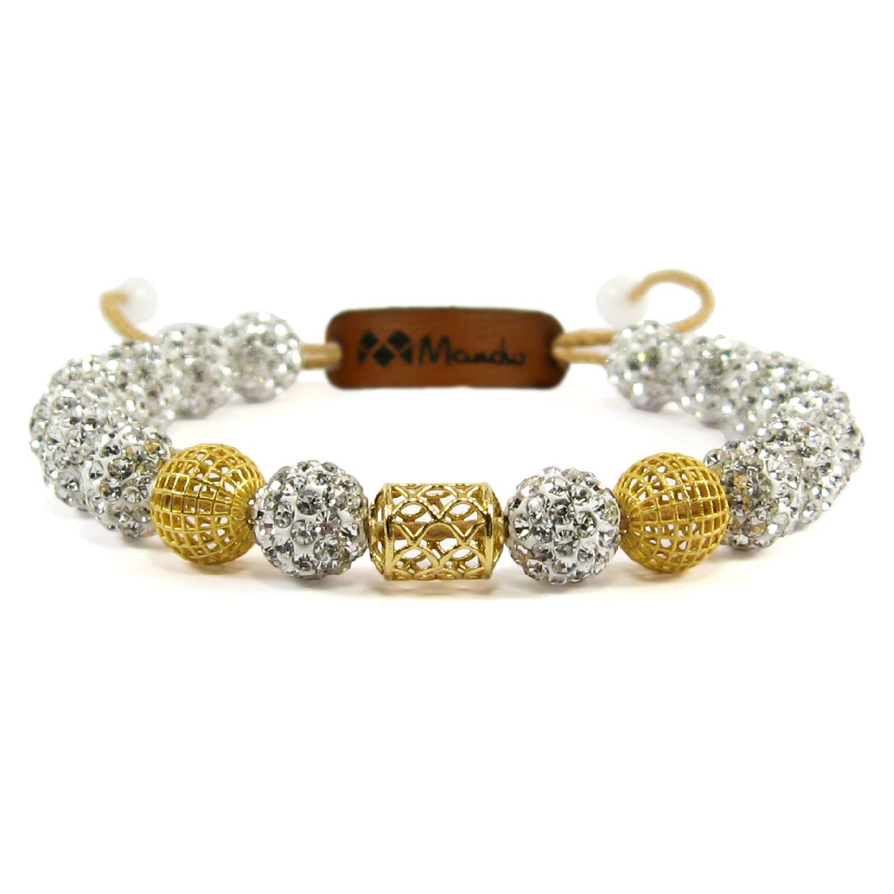 قیمت دستبند طلا 18عیار مانچو مدل bfg080