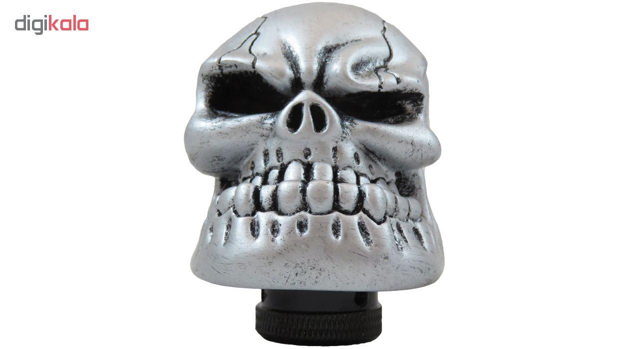 سردنده طرح اسکلت مدل Angry-Silver