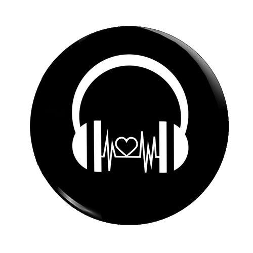 پیکسل فلوریزا طرح هدفون موزیک کد 001
