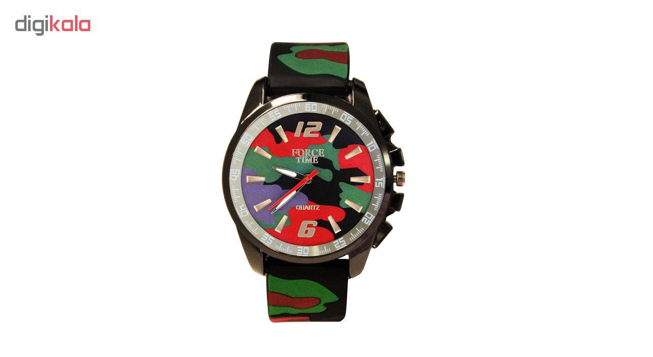 خرید ساعت مچی عقربه ای و زنانه مردانه فورس تایم مدل P4-71 | ساعت مچی