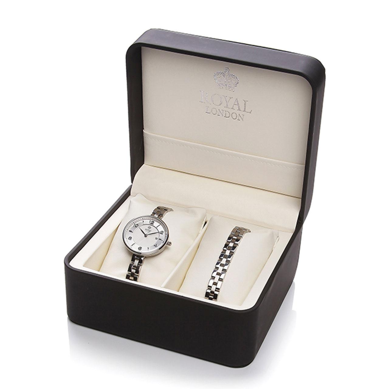 ساعت مچی عقربه ای زنانه رویال لندن مدل RL-21332-04 55
