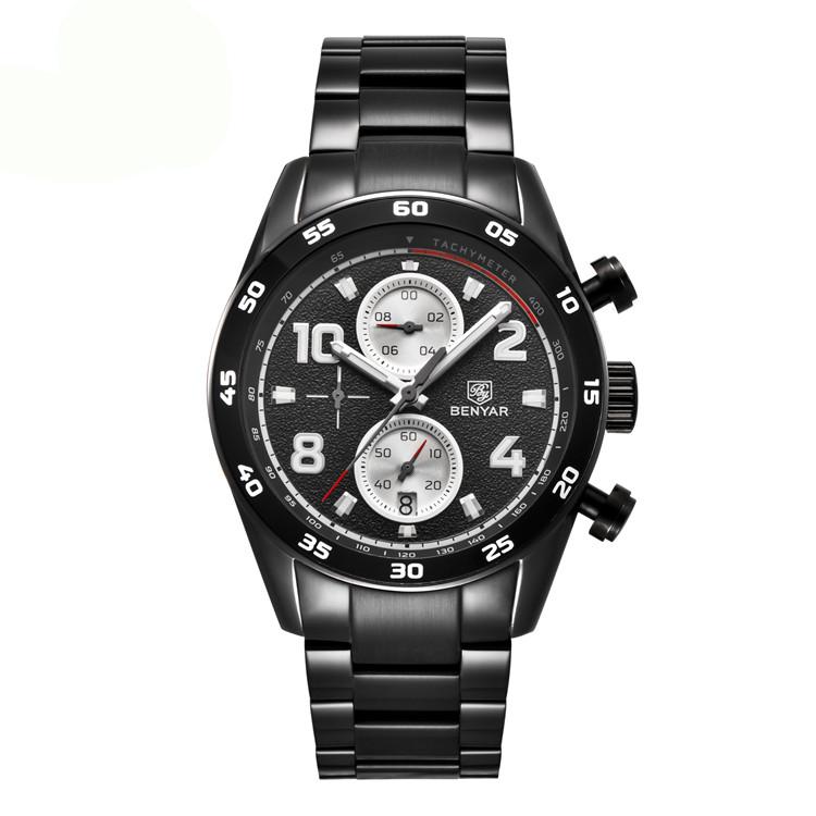 ساعت مچی عقربه ای مردانه بنیار مدل 5126M