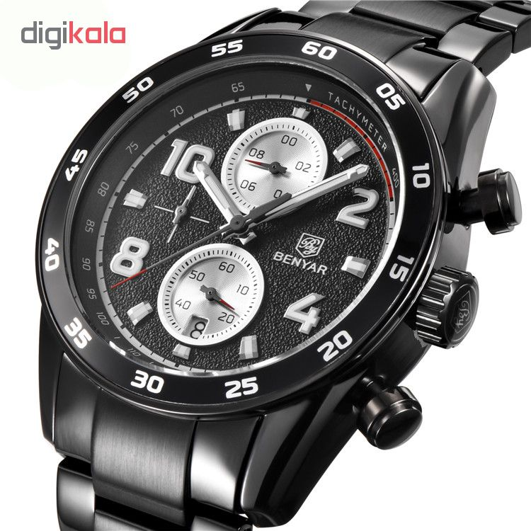 خرید ساعت مچی عقربه ای مردانه بنیار مدل 5126M