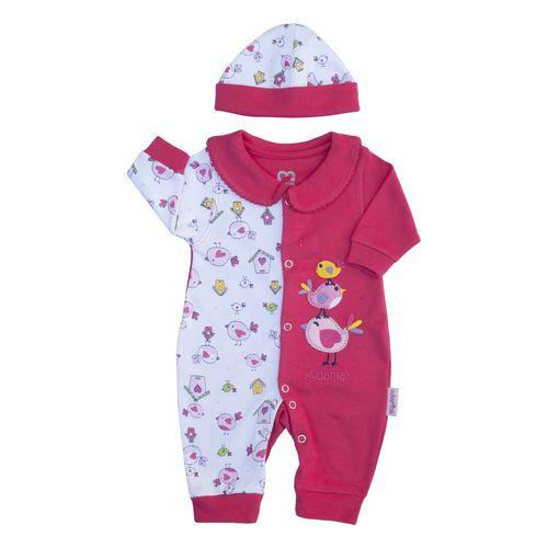 ست 2 تکه لباس نوزادی دخترانه آدمک مدل جوجه 02