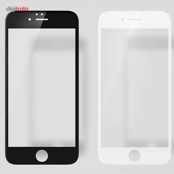 محافظ صفحه نمایش شیشه ای مدل 3D CP Plus MAX مناسب برای گوشی موبایل آیفون 6 پلاس/6s پلاس main 1 2
