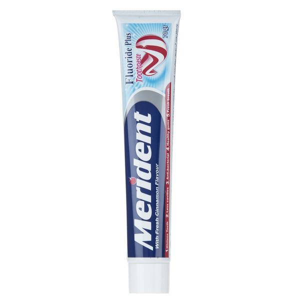 خمیر دندان سفید کننده مریدنت مدل Fluoride Plus مقدار 70 گرم