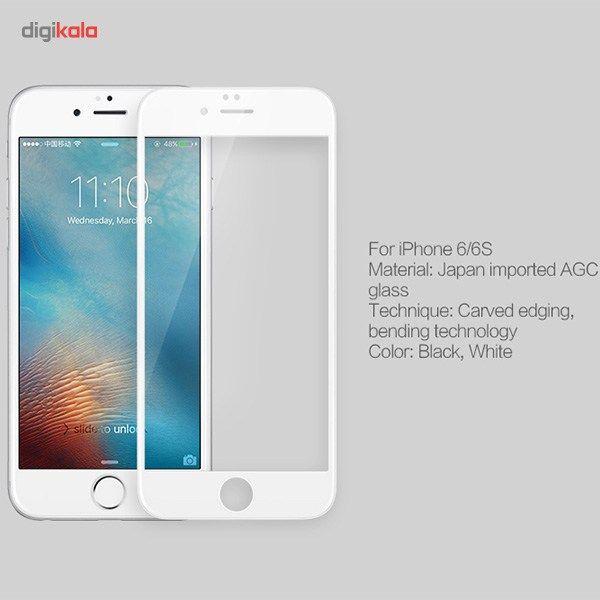 محافظ صفحه نمایش شیشه ای مدل 3D CP Plus MAX مناسب برای گوشی موبایل آیفون 6 پلاس/6s پلاس main 1 4