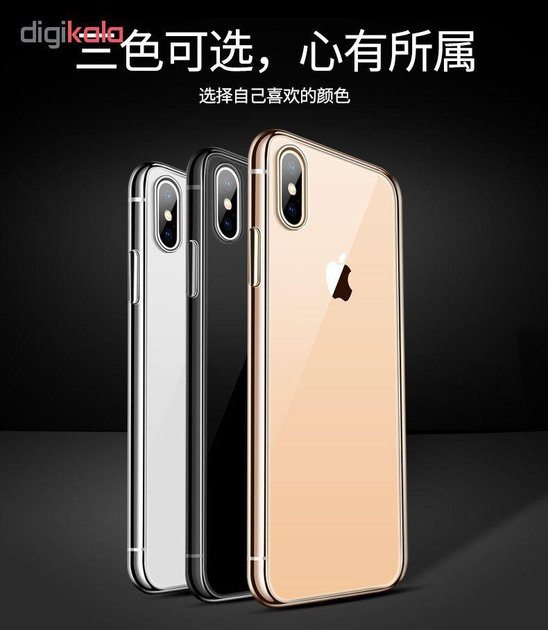 کاور آی دوژی مدل Electroplate Pc مناسب برای اپل iPhone X/XS main 1 12